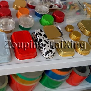 Food Packing Lacquer Aluminum Foil