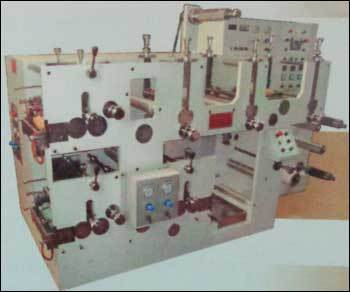 Flexo Rotary Label Printing Press With Die Cutting Stations Jandu CD 1032 In