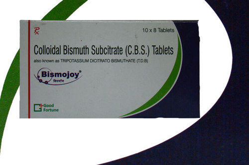 Colloidal Bismuth Subcitrate (C.B.S) Tablets