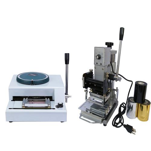 PVC Card Embossing Machine (Manual)