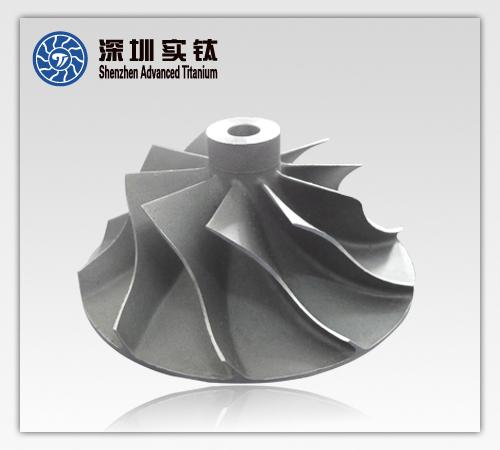 Titanium Casting Impeller For Engine Parts