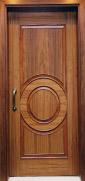 Solid Wooden Door (3P - Circle)