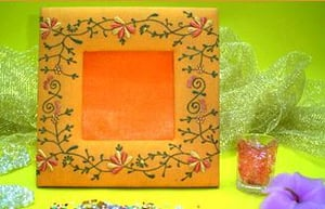 Fabric Picture Frames (NIF-512A)