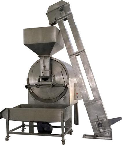 Radiant Heating Rotary Drum Roaster