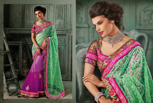 Designer Bollywood Sarees in  Salabatpura