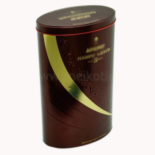 Ellipse Wine Tin Box
