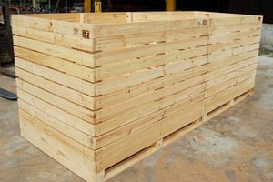 Plywood Storage Containers