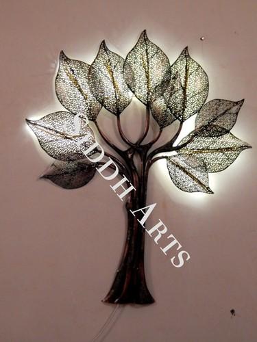 Metal Tree LED Wall Hangings