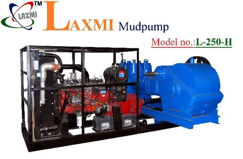 Mud Pumps Couple With Engine