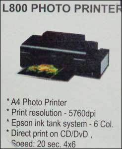 L800 Photo Printer