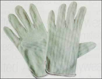 Anti Static Gloves with Dots (AST 304)