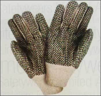 Polka Dotted Drill Gloves (CDG 305)