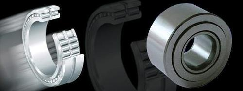 Full Complement Cylindrical Roller Bearings With Snap Ring Grooves