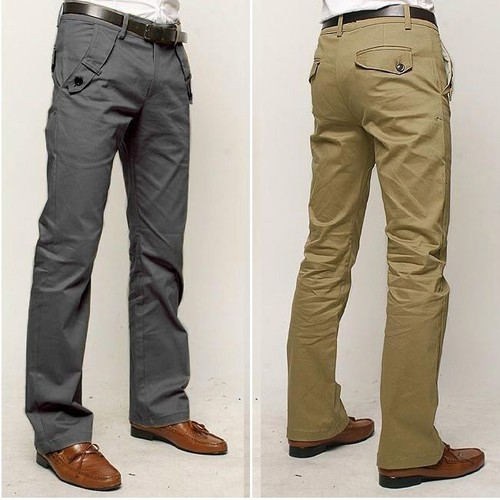 Korean Stylish Men's Casual Trousers
