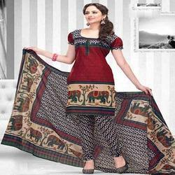Synthetic Salwar Suit