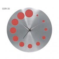 Red Galaxy Round Wall Clocks (Gsr 30)