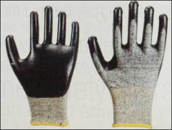 Cut Resistant Gloves With Nitrile Coating