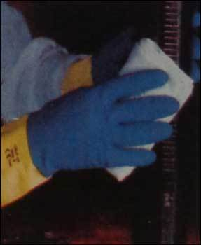 Unsupported Latex Gloves
