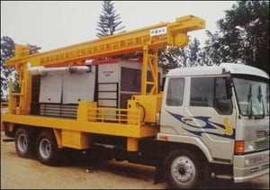 DTH Cum Rotary Drilling Rigs
