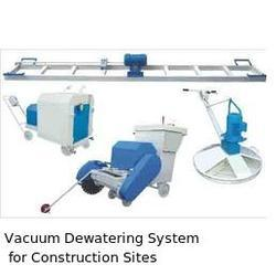 Vacuum Dewatering System For Constriction Sites