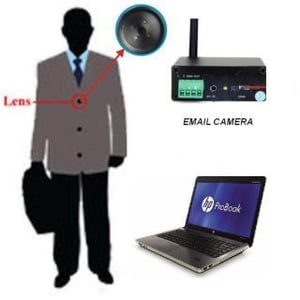 Latest 3g Button Spy Camera For Live Video