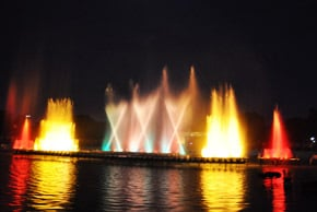 Programmable Musical Fountains