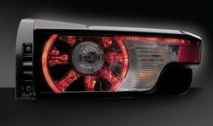 Combination Rear Lamps With LED Functions (Land Rover Evoque)