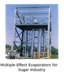 Multiple Effect Evaporators Sugar Industry