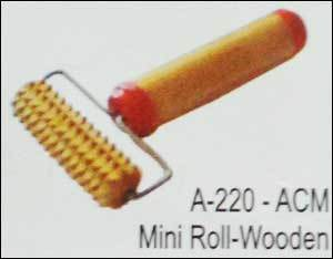 Acupressure Mini Roll - Wooden (A-220)