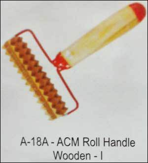 Acupressure Roll Handle Wooden (A-18a)