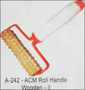 Acupressure Roll Handle - Wooden (A-242)
