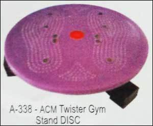 Acupressure Twister Gym Stand Disc