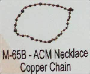 Acm Necklace Copper Chain