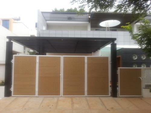Wood Composite Gate