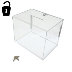 Durable Acrylic Drop Box