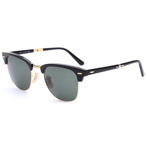 Classic Vintage Clubmaster Folding Sunglasses
