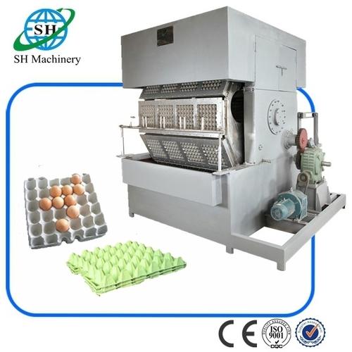 12 Platens Rotating Egg Tray Machine