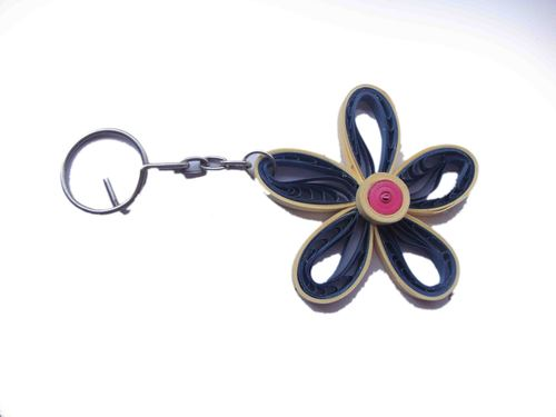 Quilling Key Chain