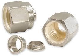 Industrial Brass Furrel Nuts