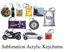 Sublimation Acrylic Key Chains