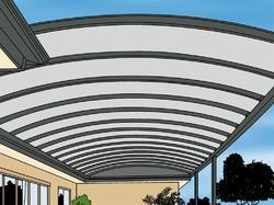 Curve Roof For Roofing
