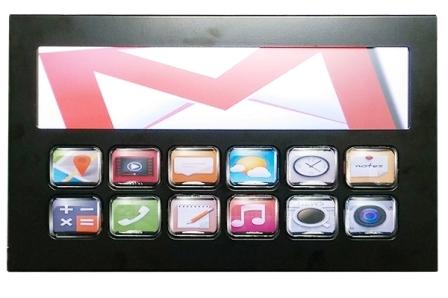2X6 TFT Display Push Button