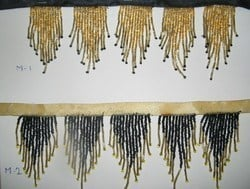 Beaded Fringes And Laces