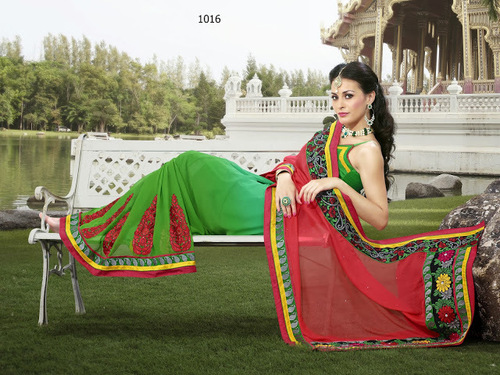 Printed Stylish Saree in  Pandu Nagar