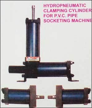 Hydropneumatic Clamping Cylinder for PVC Pipe Socketing Machine