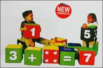 Jumbo Figure Blocks Play Equipment