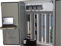 Plc Panel With Ups And Operator Shelf Station