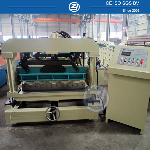 Galvanized Steel Tile Roll Forming Machine