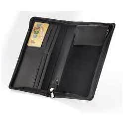 Leather Cheque Book Folder