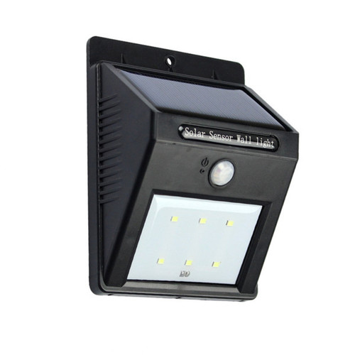 6 LED PIR Motion Sensor Wall Light